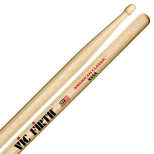 Vic Firth Extreme 55A American Hickory Wood Tip Drumsticks from Vic Firth