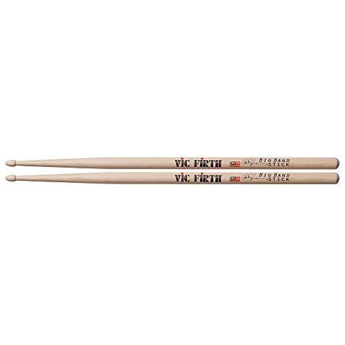 Vic Firth Peter Erskine Big Band Signature American Hickory Wood Tip Drumsticks from Vic Firth