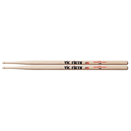 Vic Firth VFAJ6 American Jazz 6 Wood Tip Drumsticks from Vic Firth