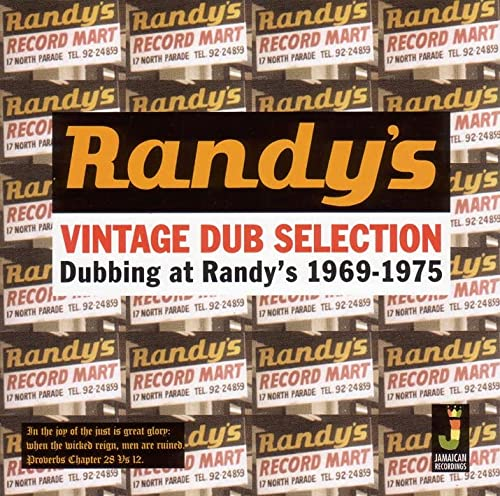 Dubbing At Randys 1969-1975 from JAMAICAN REC.