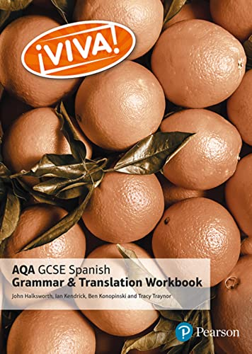 Viva! AQA GCSE Spanish Grammar and Translation Workbook from Pearson Education Limited
