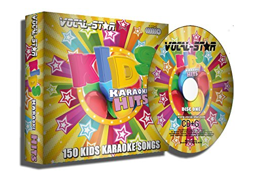 Vocal-Star Kids Karaoke CDG CD+G Disc Set - 150 Songs 7 Discs from Vocal-Star