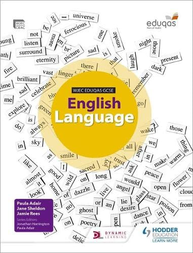 WJEC Eduqas GCSE English Language Student Book from Hodder Education