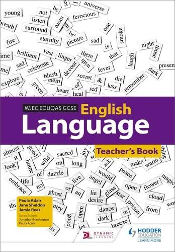 WJEC Eduqas GCSE English Language Teacher's Book from Hodder Education