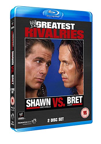WWE Greatest Rivalries: Shawn Michaels Vs Brett Hart [Blu-ray] from Fremantle Home Entertainment