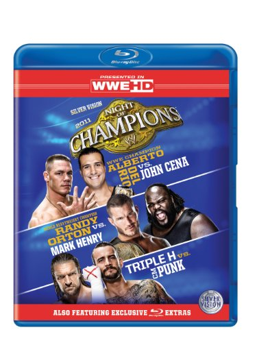 WWE - Night Of Champions 2011 [Blu-ray] from Clear Vision Ltd