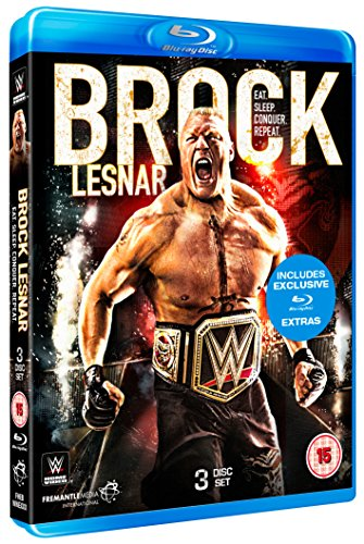 WWE: Brock Lesnar - Eat. Sleep. Conquer. Repeat. [Blu-ray] from Fremantle Home Entertainment