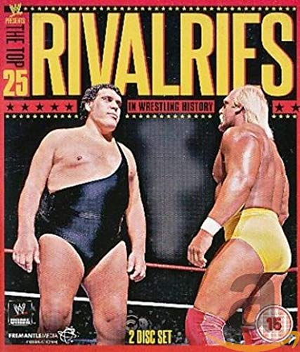 WWE: The Top 25 Rivalries in Wrestling History [Blu-ray] from Fremantle Home Entertainment