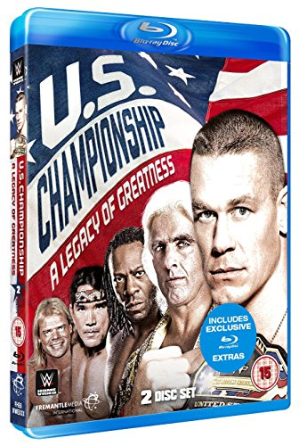 WWE: The US Championship - A Legacy Of Greatness [Blu-ray] from Fremantle Home Entertainment
