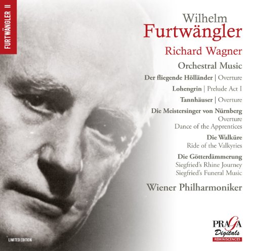 Wagner: Orchestral Music from PRAGA DIGITALS