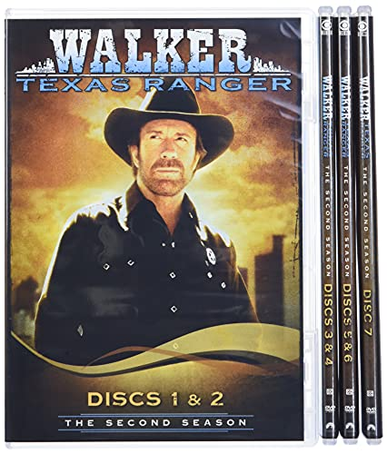 Walker Texas Ranger: Complete Second Season (7pc) [DVD] [1994] [Region 1] [US Import] [NTSC] from Paramount Home Video
