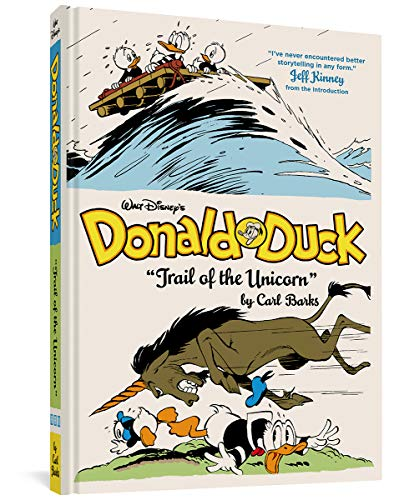 "Walt Disney's Donald Duck: ""trail of the Unicorn"" (the Complete Carl Barks Disney Library Vol. 8) from Fantagraphics Books"