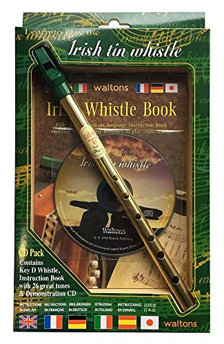 Waltons 1514M D Whistle CD Pack from Waltons