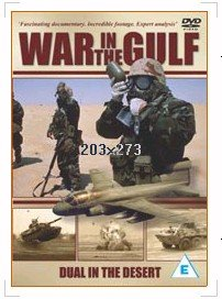 War In The Gulf - Dual In The Desert DVD from Musicbank