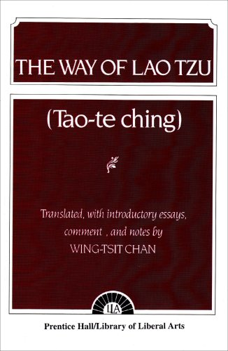 The Way of Lao Tzu from Pearson