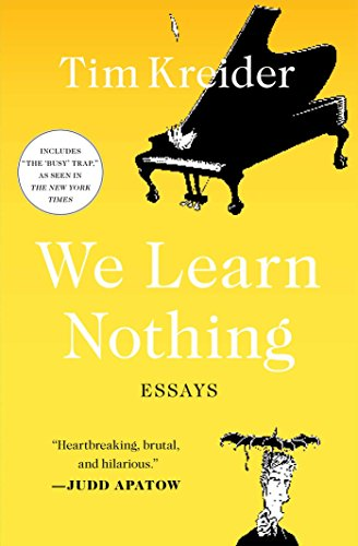We Learn Nothing: Essays from Simon & Schuster