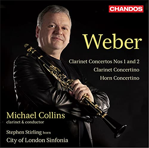 Weber:Clarinet Concertos 1 & 2 (Chandos: CHAN 10702) from CHANDOS GROUP