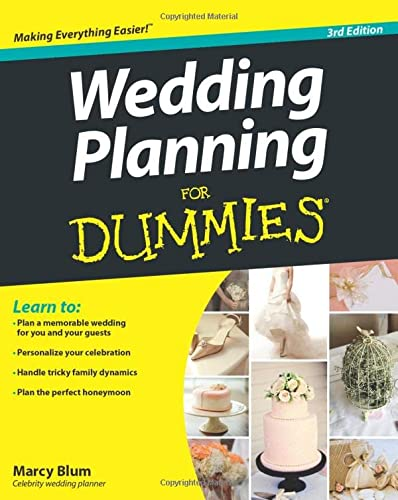 Wedding Planning For Dummies from For Dummies