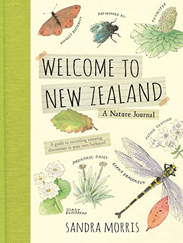 Welcome to New Zealand: A Nature Journal from Candlewick Press (MA)