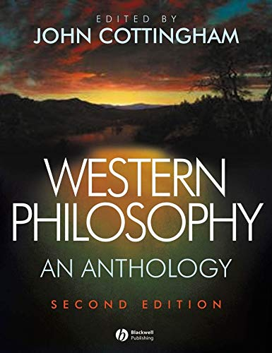 Western Philosophy: An Anthology (Blackwell Philosophy Anthologies) from Brand: WileyBlackwell
