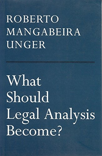 What Should Legal Analysis Become? from Verso