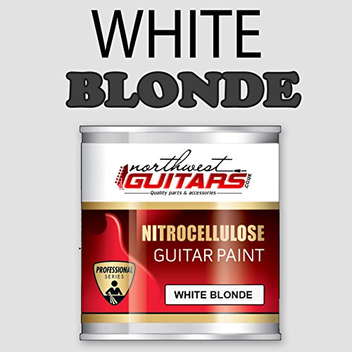 White Blonde Nitrocellulose Guitar Paint / Lacquer Aerosol - 250ml from Northwest Guitars