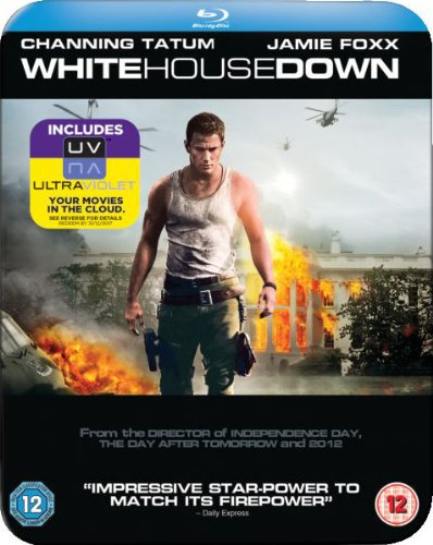 White House Down Steelbook [Blu-ray] [2013] [Region Free] from Sony Pictures Home Entertainment