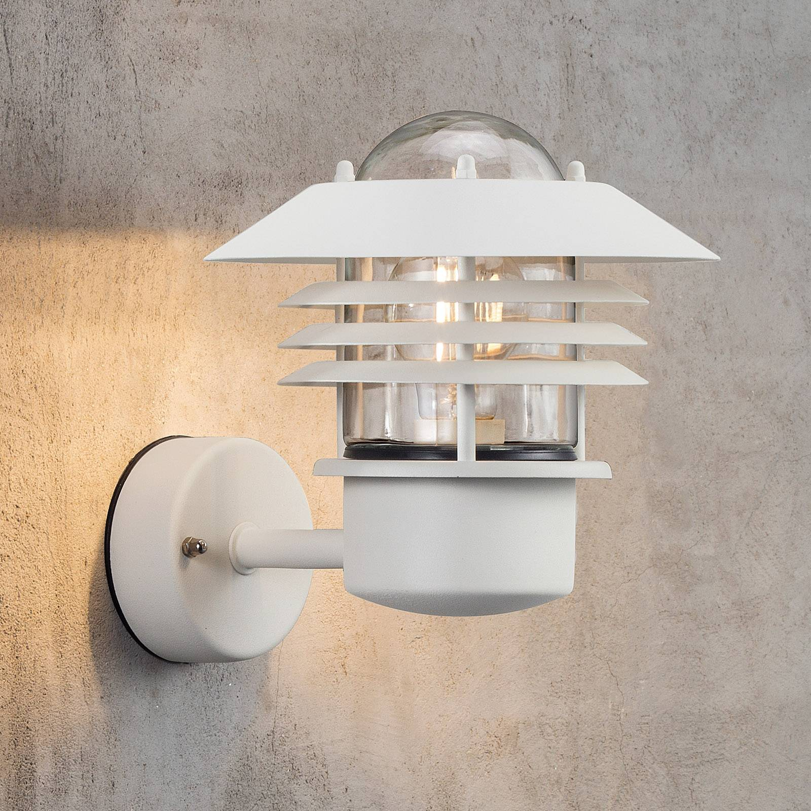 White outdoor wall lamp Island from Nordlux