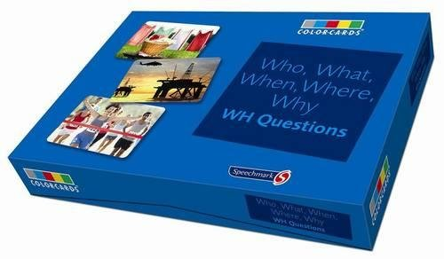 Who, What, When, Where Colorcards -Interrogative Pronouns: Wh Questions from Routledge