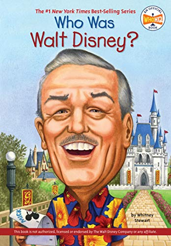 Who Was Walt Disney? from G P Putnam's Sons