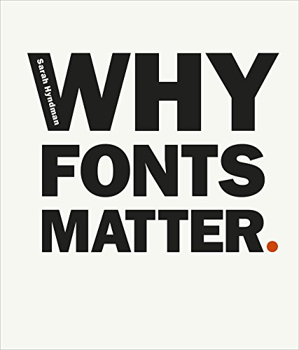 Why Fonts Matter from Virgin Books