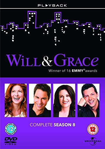 Will & Grace Season 8 [DVD] from Universal/Playback