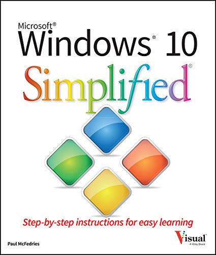 Windows 10 Simplified from John Wiley & Sons Inc