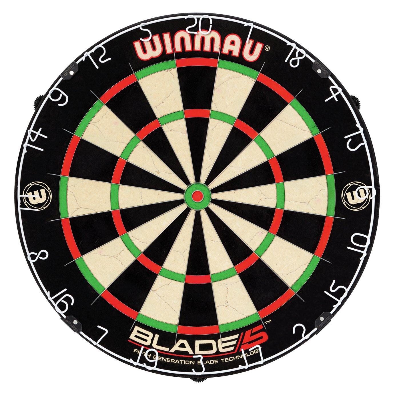 Winmau Blade 5 Bristle Dartboard. from Winmau