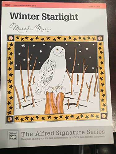 Winter Starlight Sheet from Alfred Music Publications