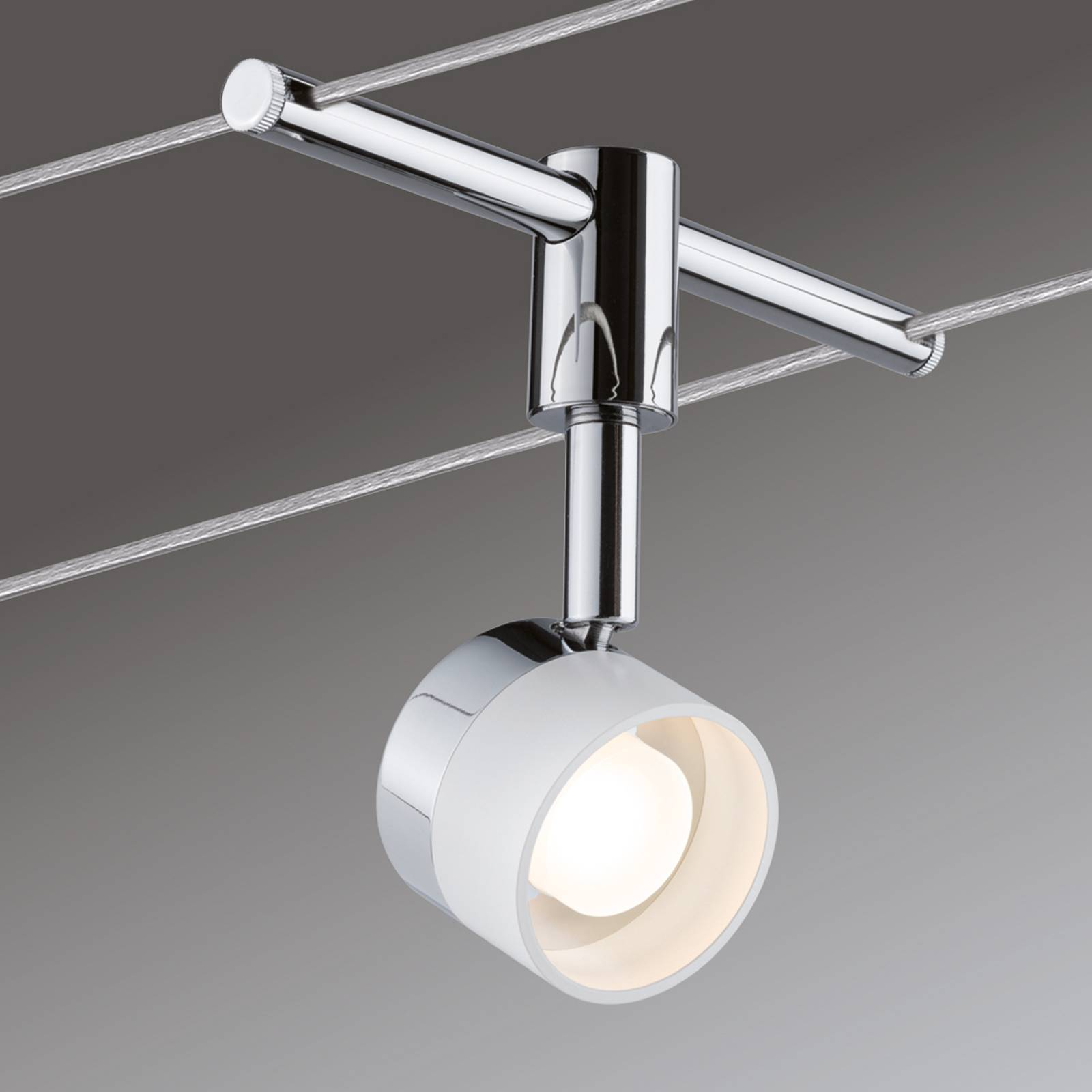 With 4 round lights - LED cable system Stage from Paulmann