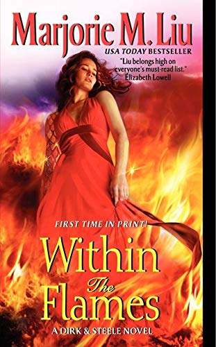 Within the Flames: A Dirk & Steele Novel (Dirk & Steele Series) from Avon Books