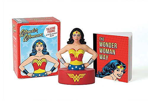 Wonder Woman Talking Figure and Illustrated Book (Miniature Editions) from Running Press