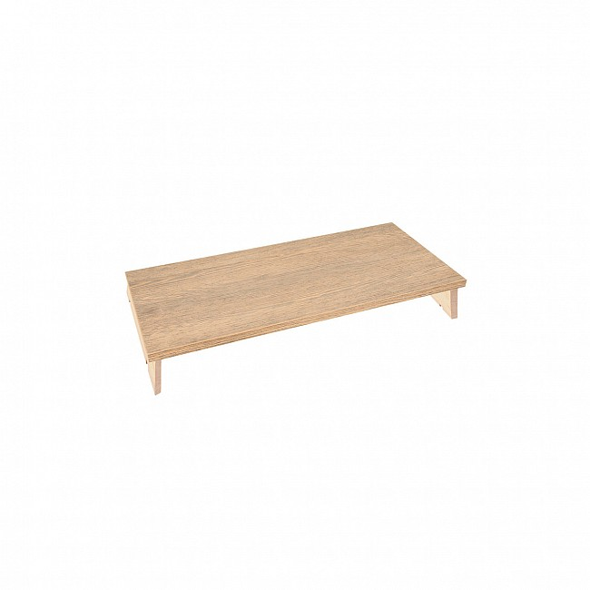 Wooden top panel, W 55 cm natural