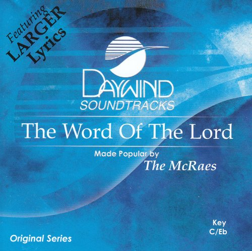 Word Of The Lord [Accompaniment/Performance Track] from Daywind