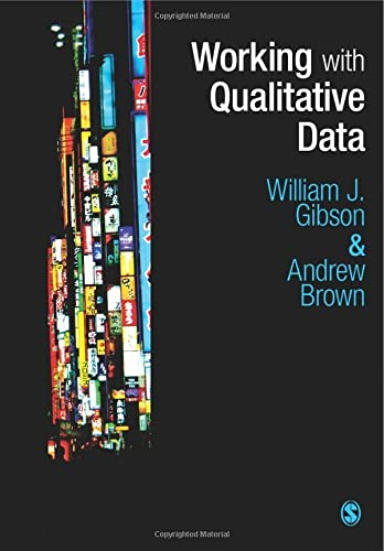 Working with Qualitative Data from SAGE Publications Ltd