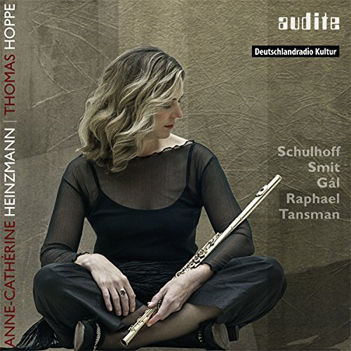 Works for Flute & Piano of the 20th Century from AUDITE