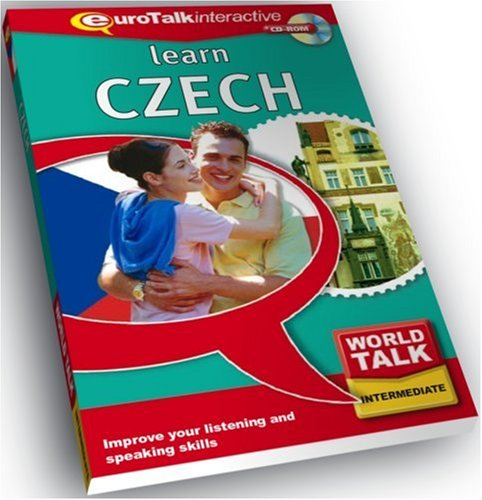 World Talk Czech: Improve Your Listening and Speaking Skills - Intermediate (PC/Mac) from EuroTalk Limited
