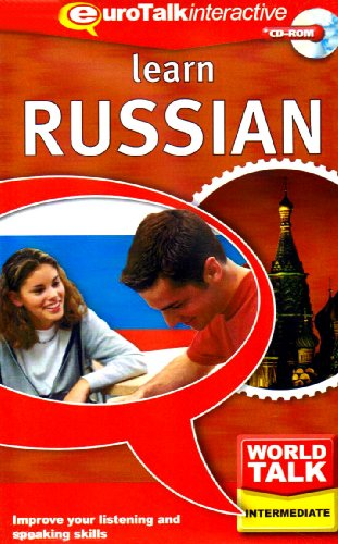 World Talk Learn Russian: Improve Your Listening and Speaking Skills - Intermediate (PC/Mac) from EuroTalk Limited