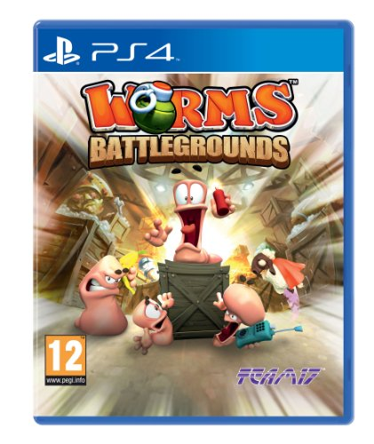Worms Battlegrounds (PS4) from Sold Out