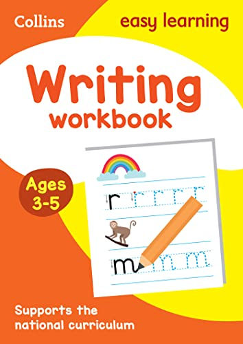 Writing Workbook Ages 3-5: New Edition (Collins Easy Learning Preschool) from HarperCollins Publishers