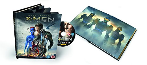 X-Men: Days of Future Past--Empire Edition Book Pack (Exclusive to Amazon.co.uk) [Blu-ray] from 20th Century Fox Home Entertainment
