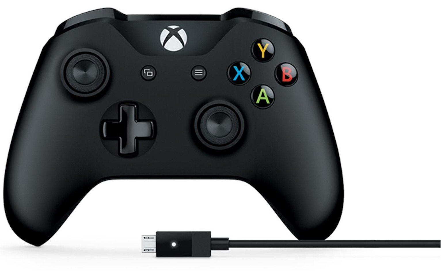 Xbox One Controller and Cable for Windows from Microsoft