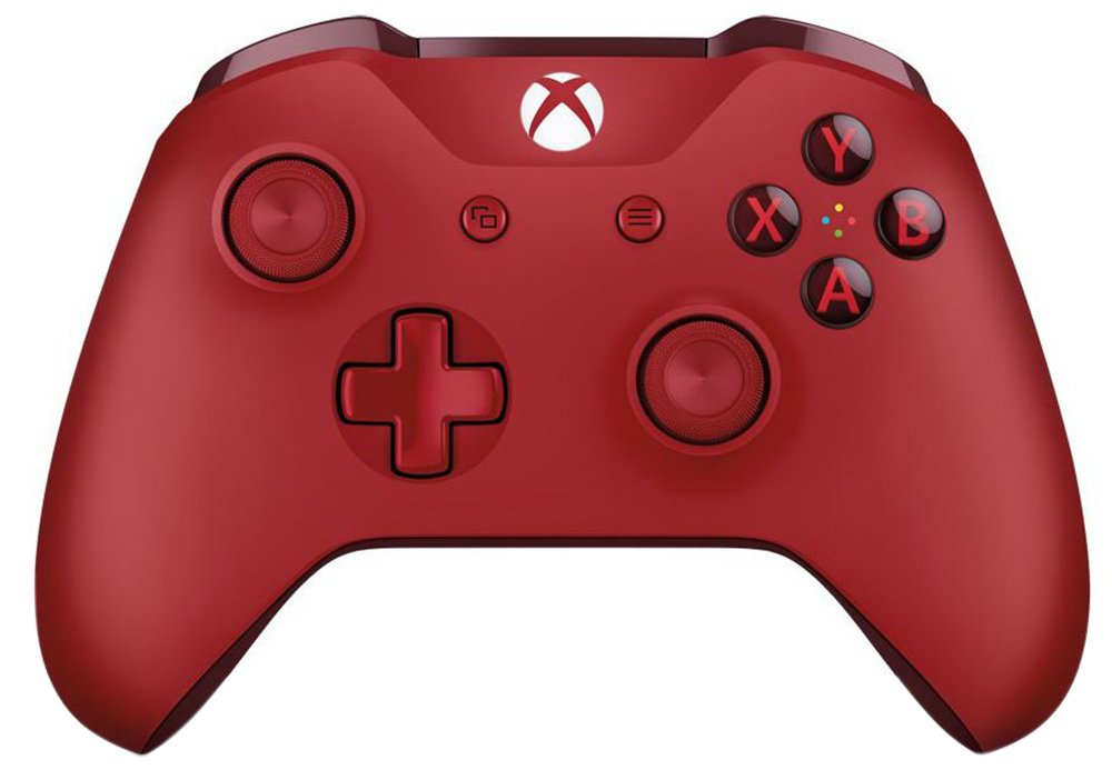 Official Xbox One Wireless Controller 3.5mm - Red from Xbox