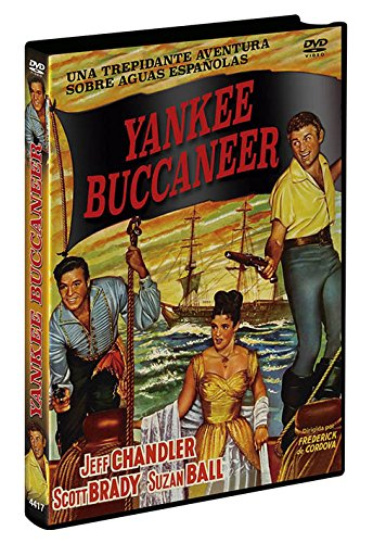 Yankee Buccaneer (1952) - Region Free PAL, plays in English without subtitles from Universal Studios